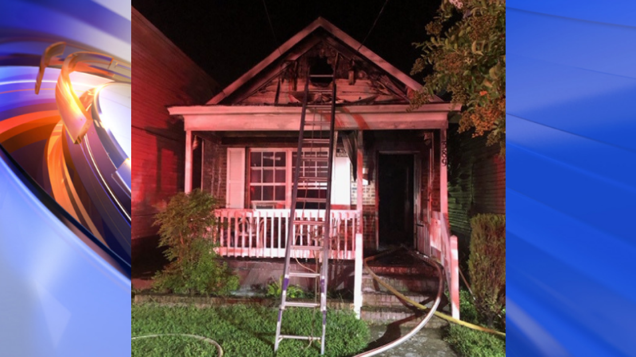 4 people displaced by Newport News house fire