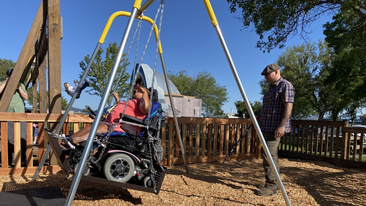 Adaptive swing comes to Helena's Memorial park