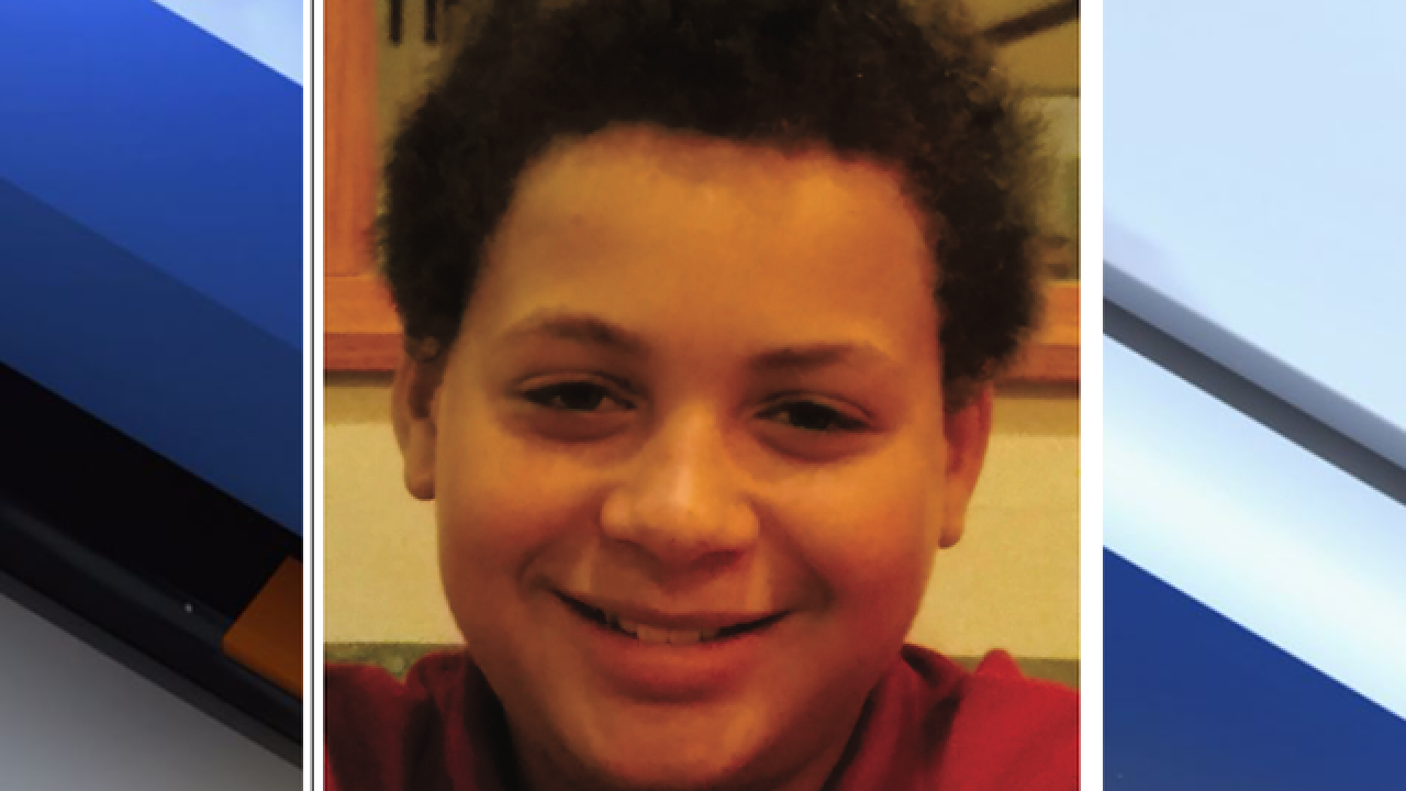 Missing endangered juvenile located at a family residence