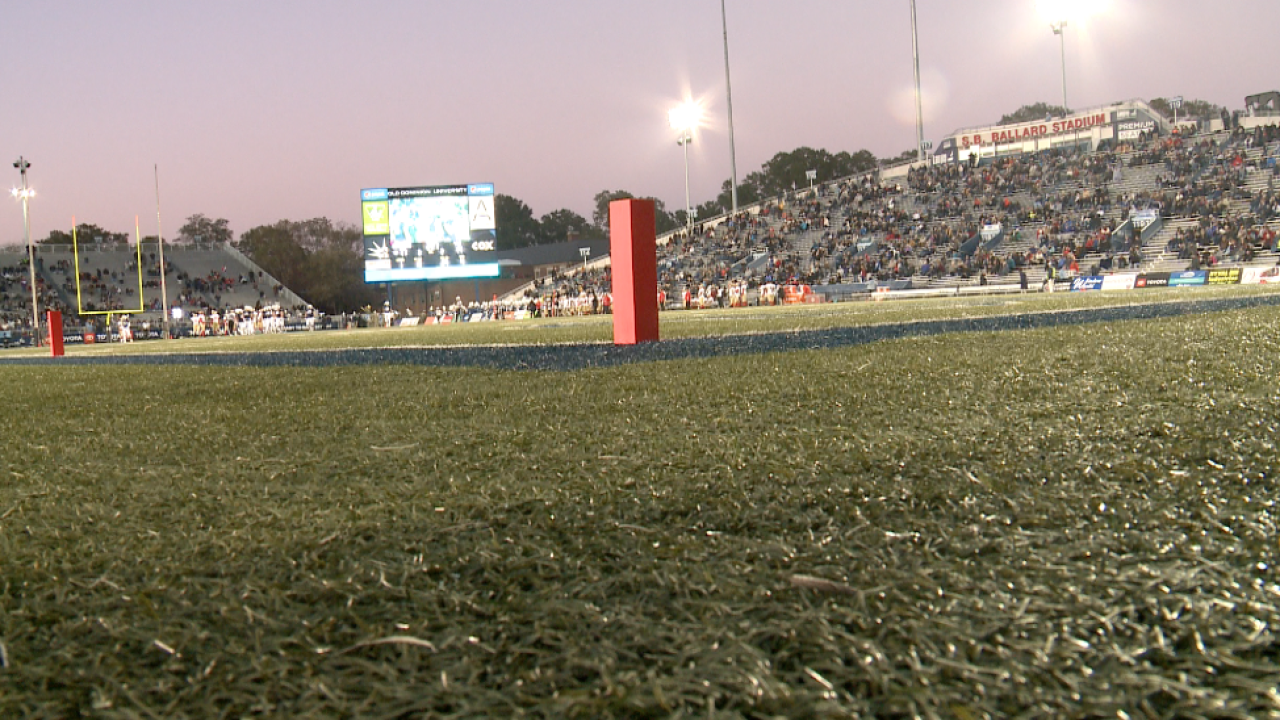 Old Dominion thumps VMI 77-14 in final game at Foreman Field