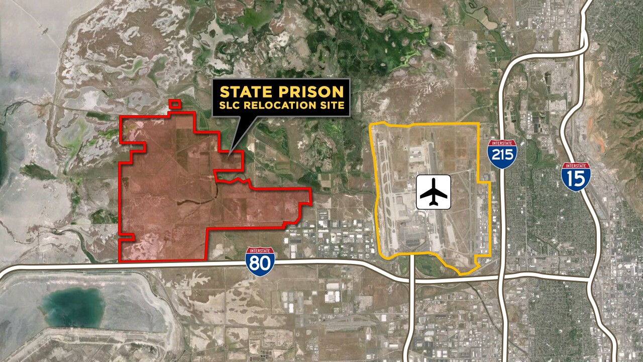 Lawmakers vote to relocate Utah State Prison to Salt Lake City