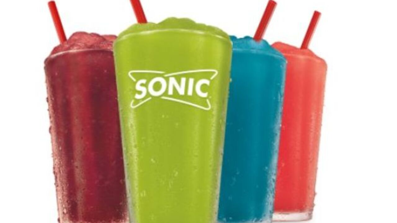 Sonic debuts Pickle Juice slush