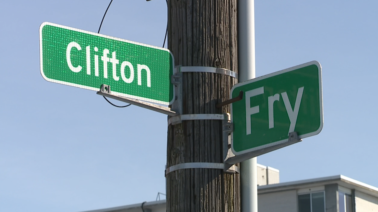 Clifton Boulevard and Fry Avenue Lakewood