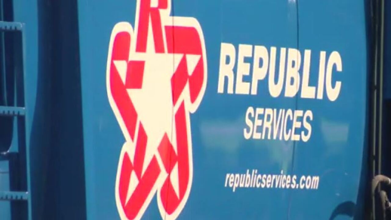 Republic Services truck
