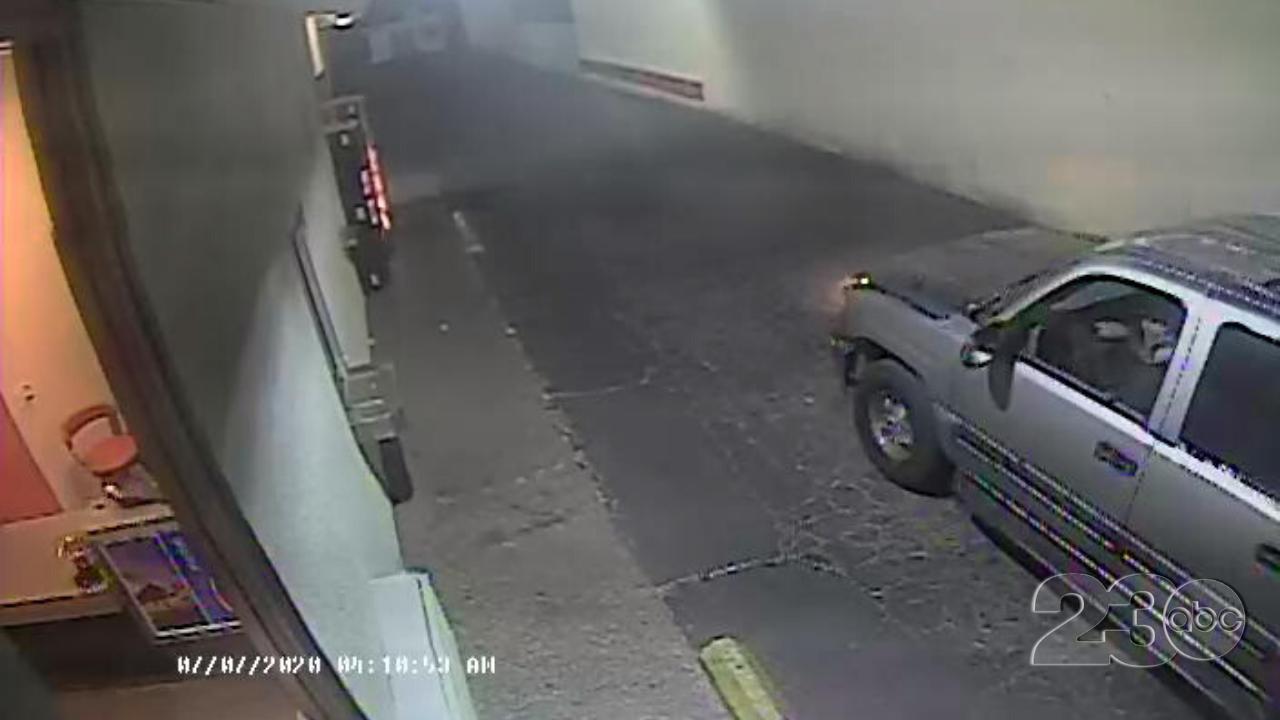 Oak Street Hit and Run Suspect Vehicle