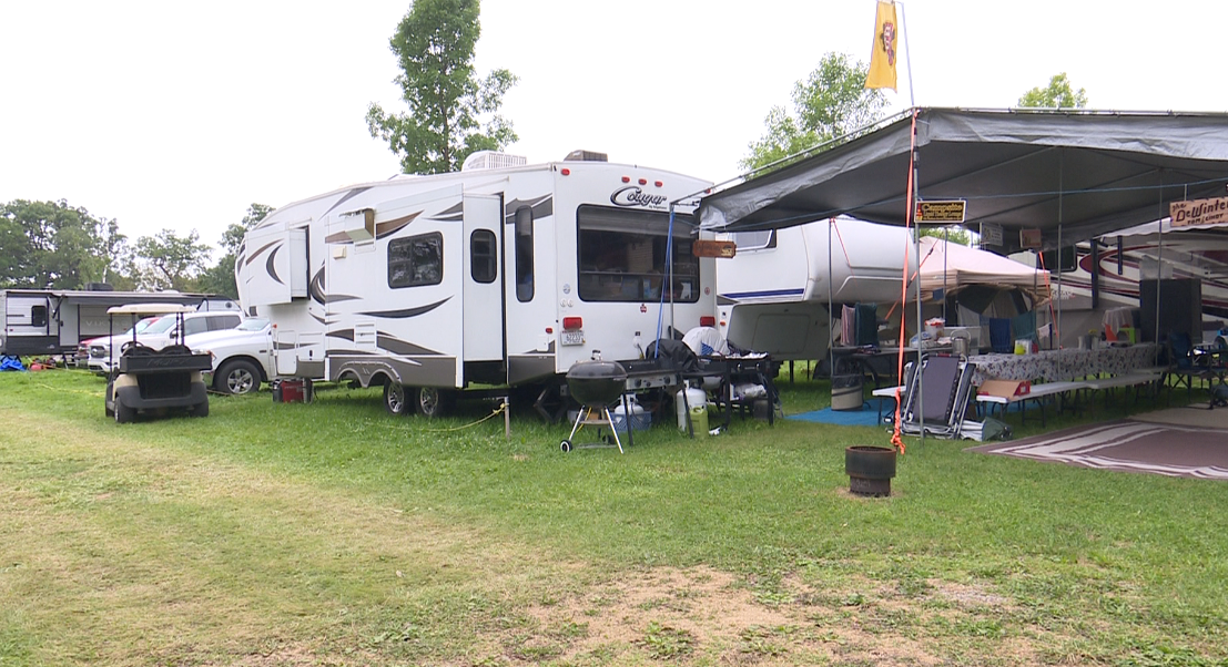 'We'll just ride it out': Campers at EAA Airventure say they're ready to ride out storms