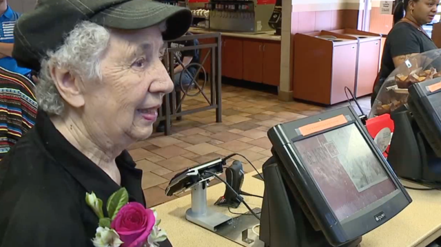 Photo gallery: Livonia McDonald's surprises employee for 90th birthday