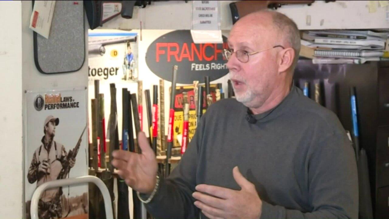 Colonial Heights-based gun seller says business skyrocketed ahead of gun controlmeasures