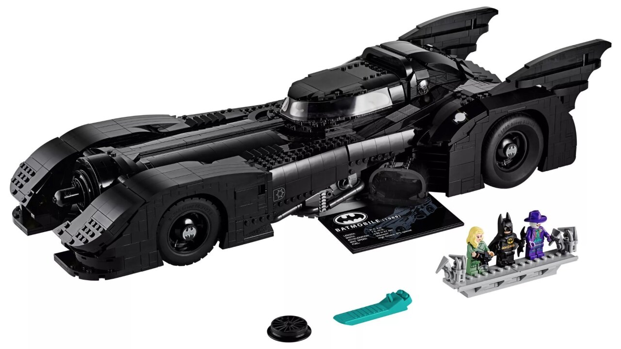 A Lego version of Batman's 1989 Batmobile is speeding into stores on Black Friday
