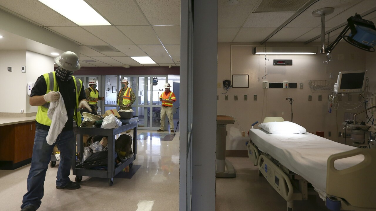 Virus Outbreak Arizona AP