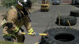 Valley gym holds fundraiser for Peoria firefighters