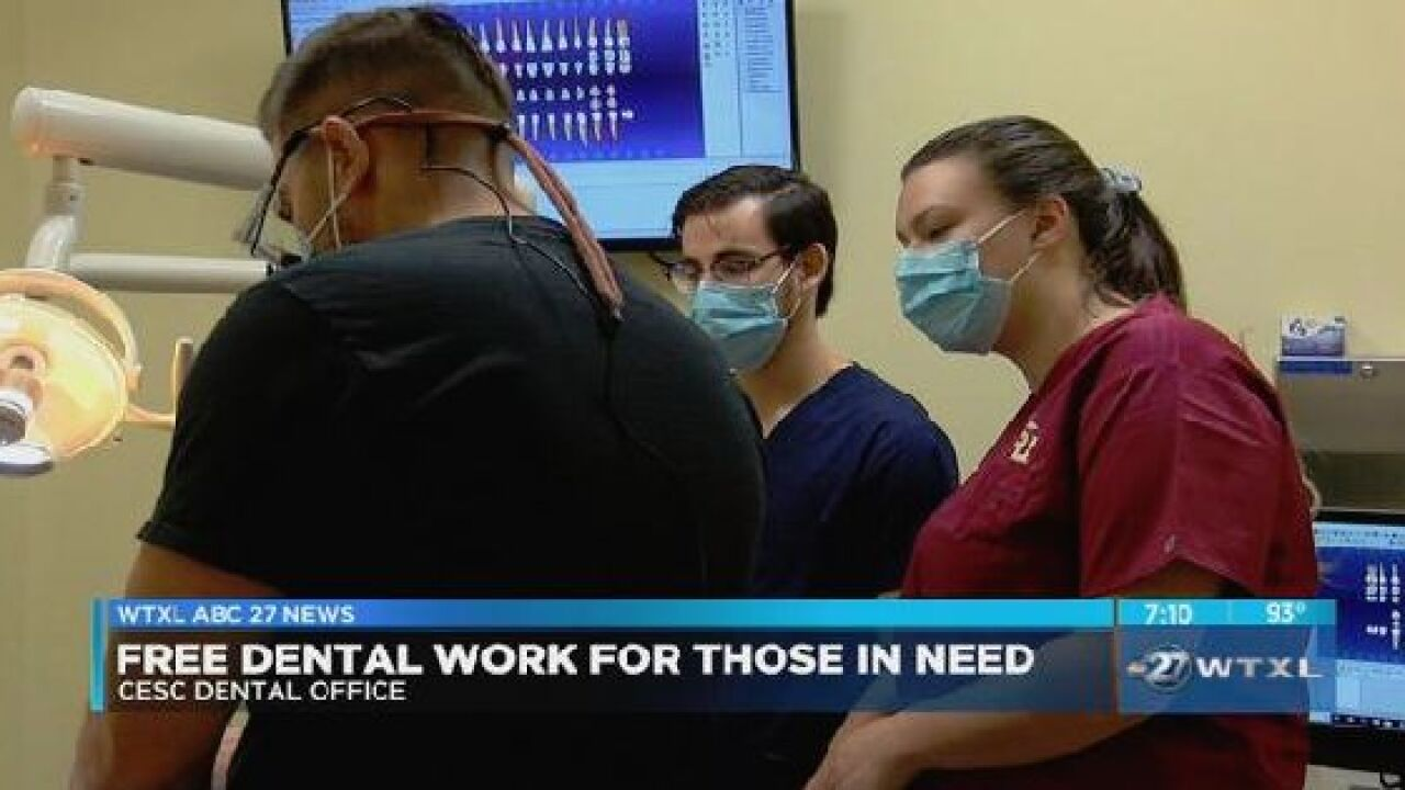 Abc Dental Care local dentist office offers free dental care for those in need