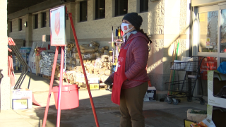 Helena Salvation Army Bell Ringer