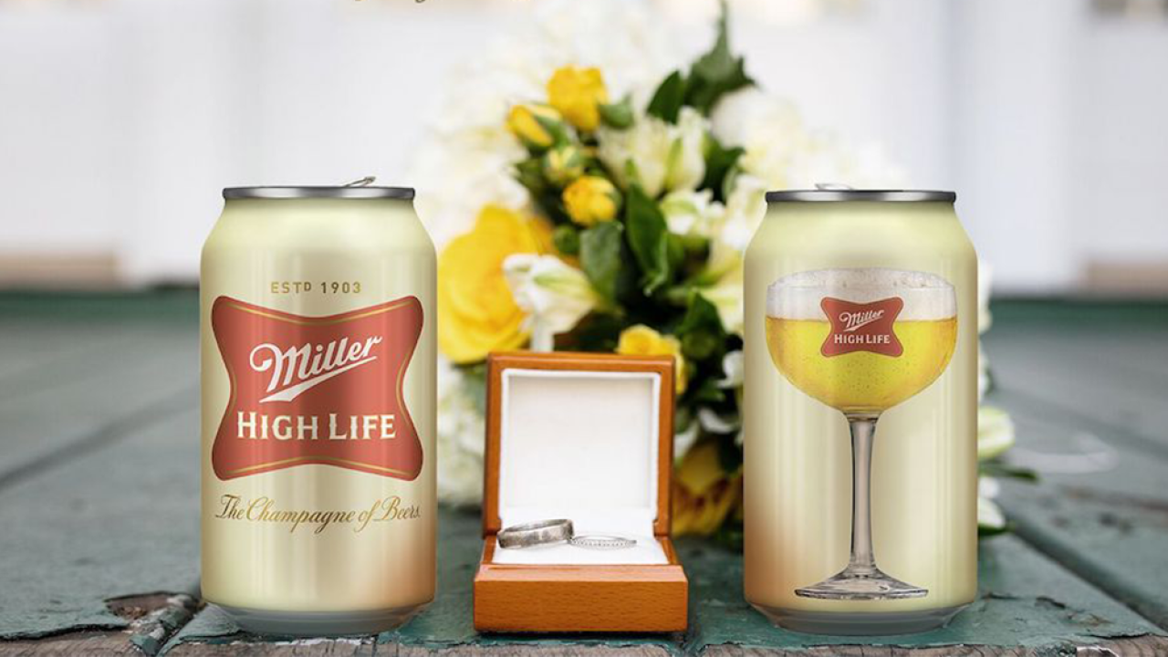 Wedding canceled by COVID-19? Miller High Life will pay you $10K and send an officiant to your house