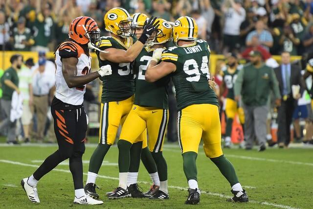 PHOTOS: Cincinnati Bengals v Green Bay Packers
