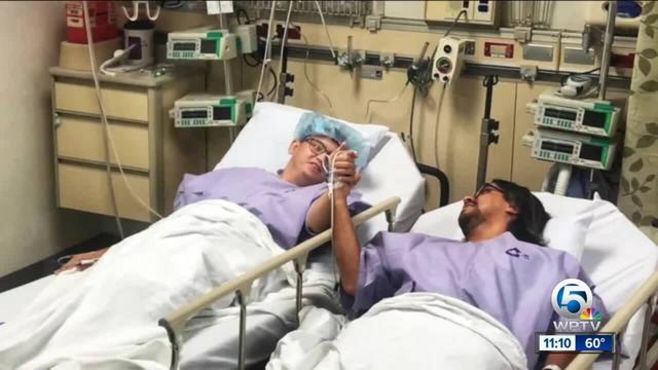 Second chance at life: kidney donor recipient out of hospital with