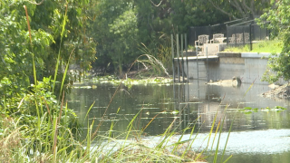 water levels in Cape Coral canals continue to drop