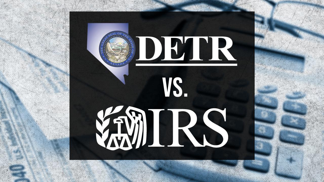 DETR vs IRS