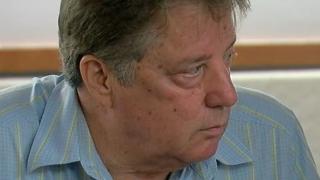 John Klosterman in court in 2018