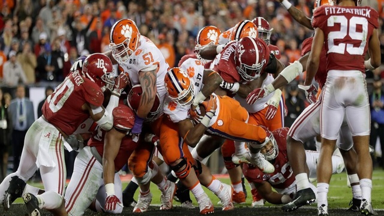 Clemson defeats Alabama in national championship rematch