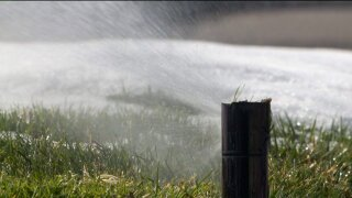 Officials urge Utahns to 'Slow the Flow' after sprinklers spotted in use aftersnowstorm