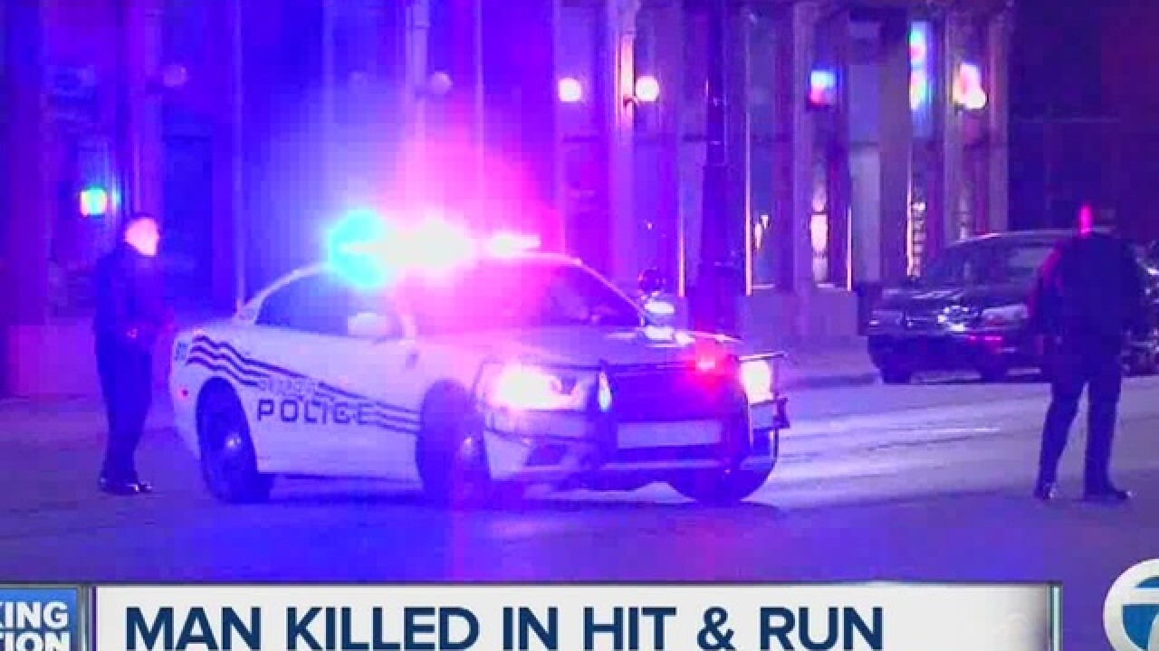 Man killed in deadly Detroit hit-and-run crash