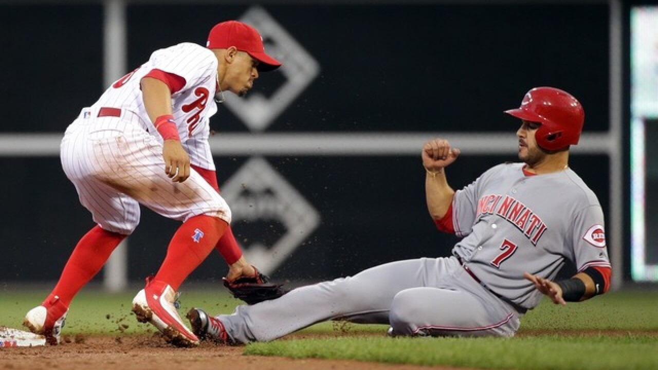 Reds lose to Phillies, another 'rebuilding' team