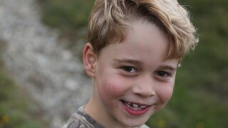 Britain's Prince George celebrates 7th birthday with new photos, party at home