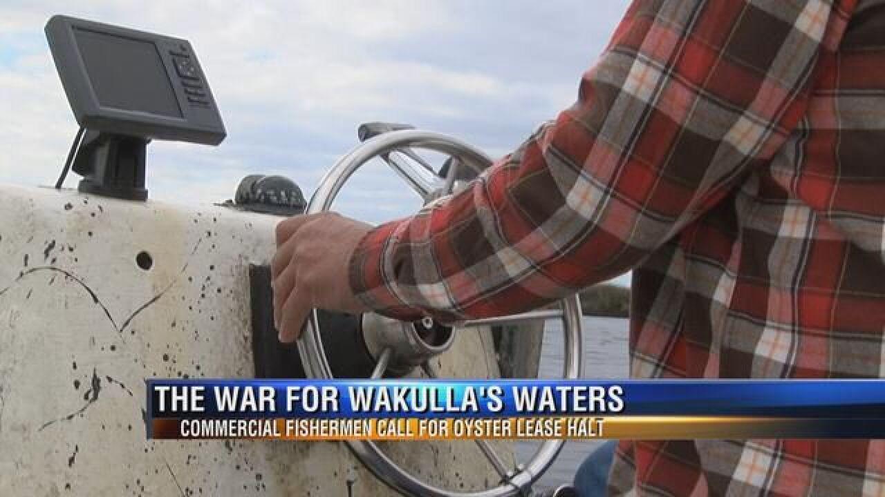 Wakulla Fishermen Call for Oyster Leasing Halt