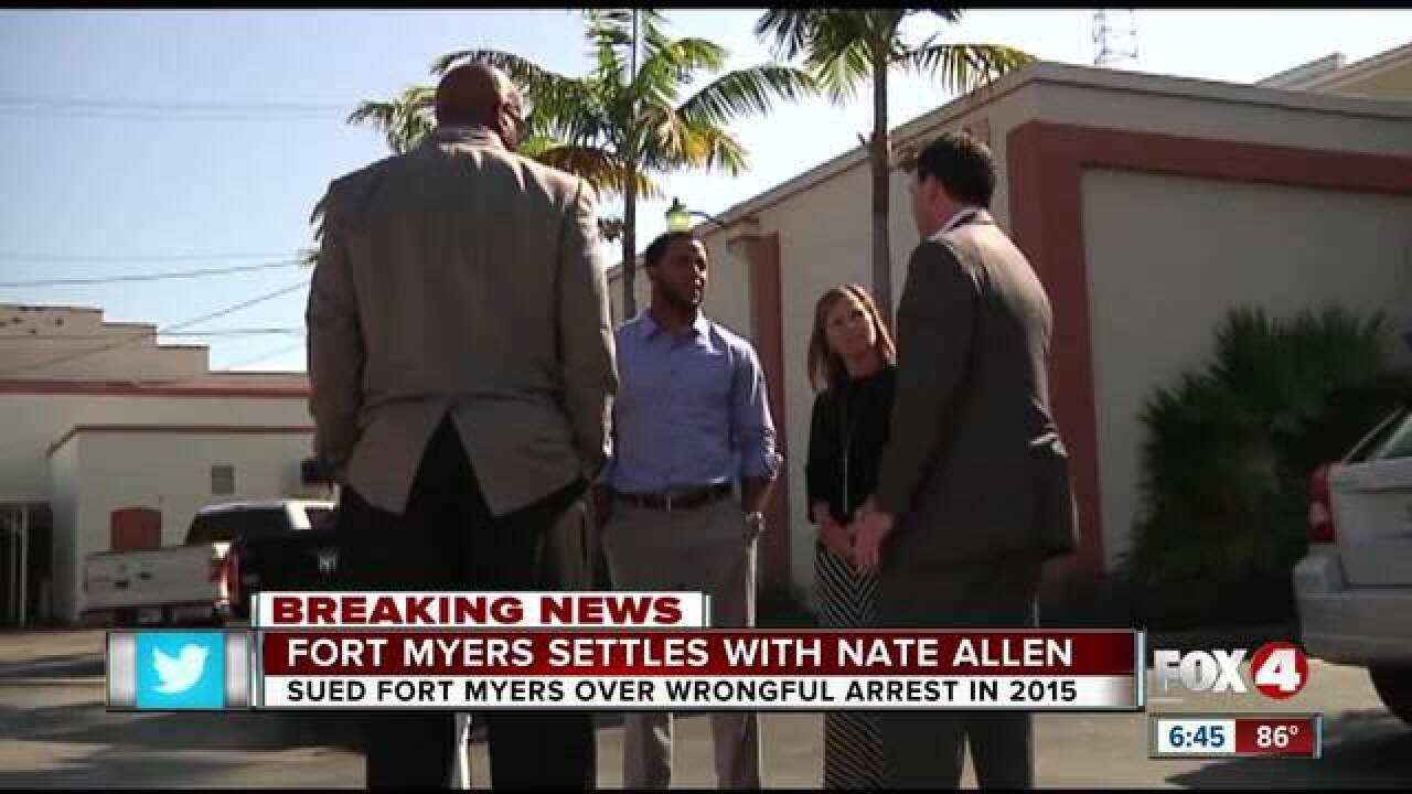 NFL safety Nate Allen to receive $440k from Fort Myers for wrongful arrest