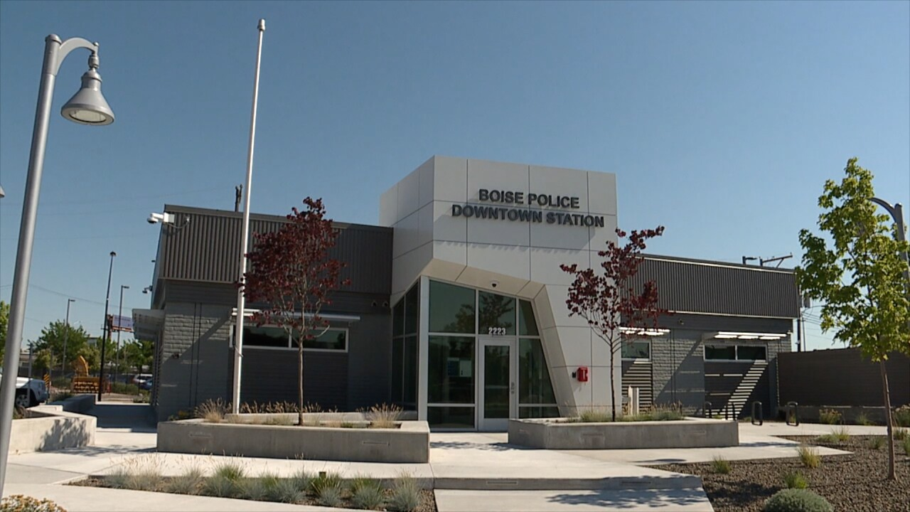 Downtown Boise Police Station