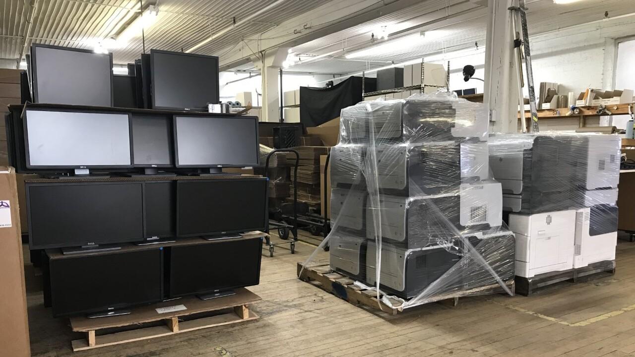 Warehouse of Digital Bridge in Milwaukee