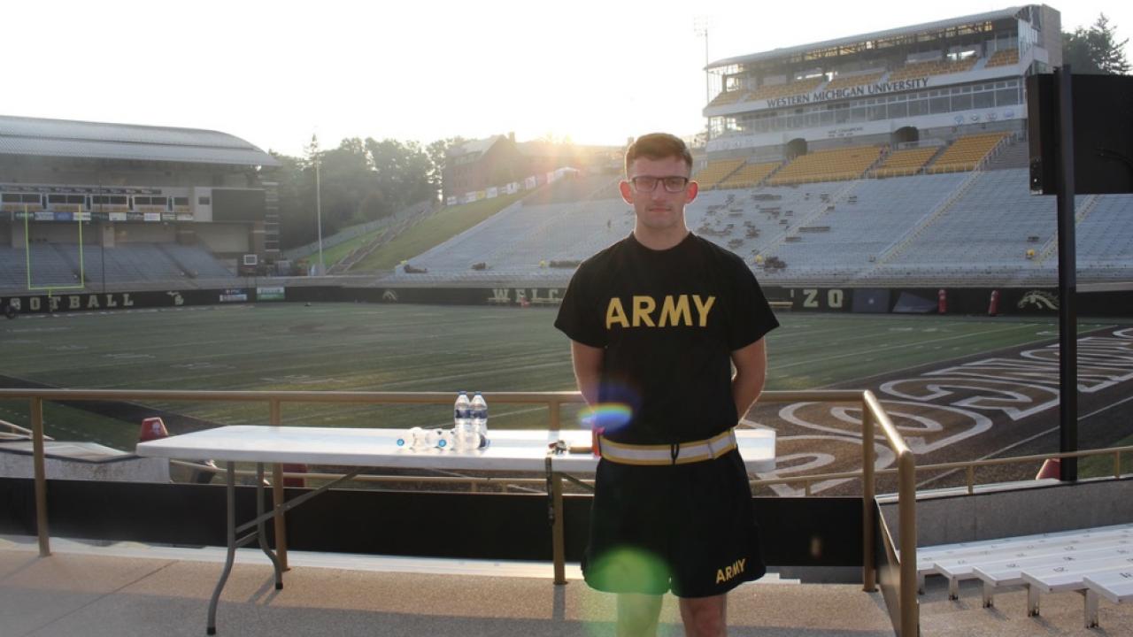 WMU Army ROTC Silent Climb