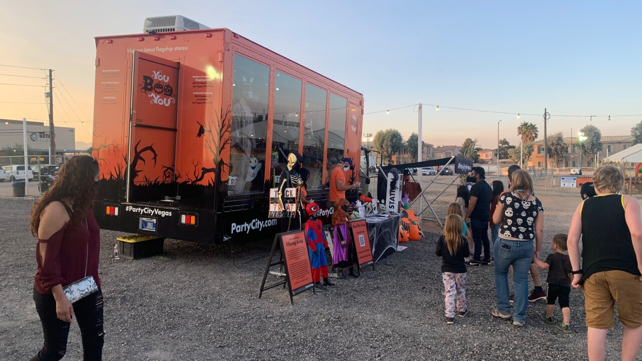Party City mobile tour brings Halloween shopping experience to Las Vegas families