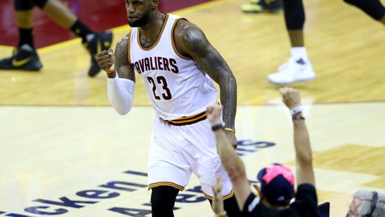 Going back to Cali: Lebron, Cavaliers down Warriors, force Game 7