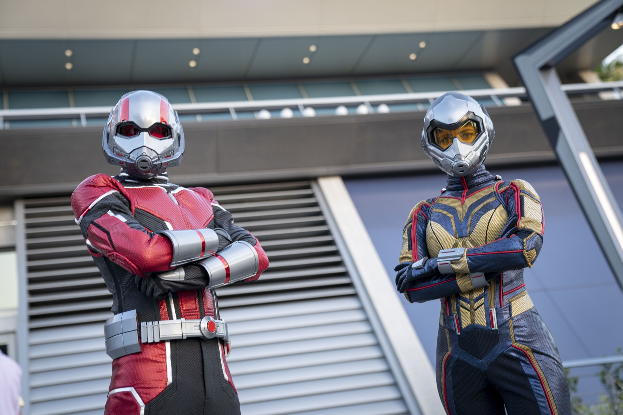 Ant-Man and The Wasp at Avengers Campus