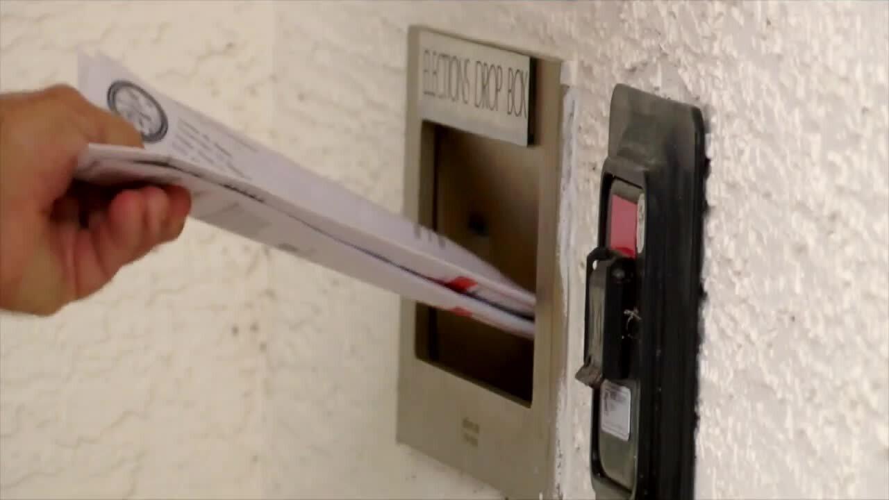 Palm Beach County elections drop box