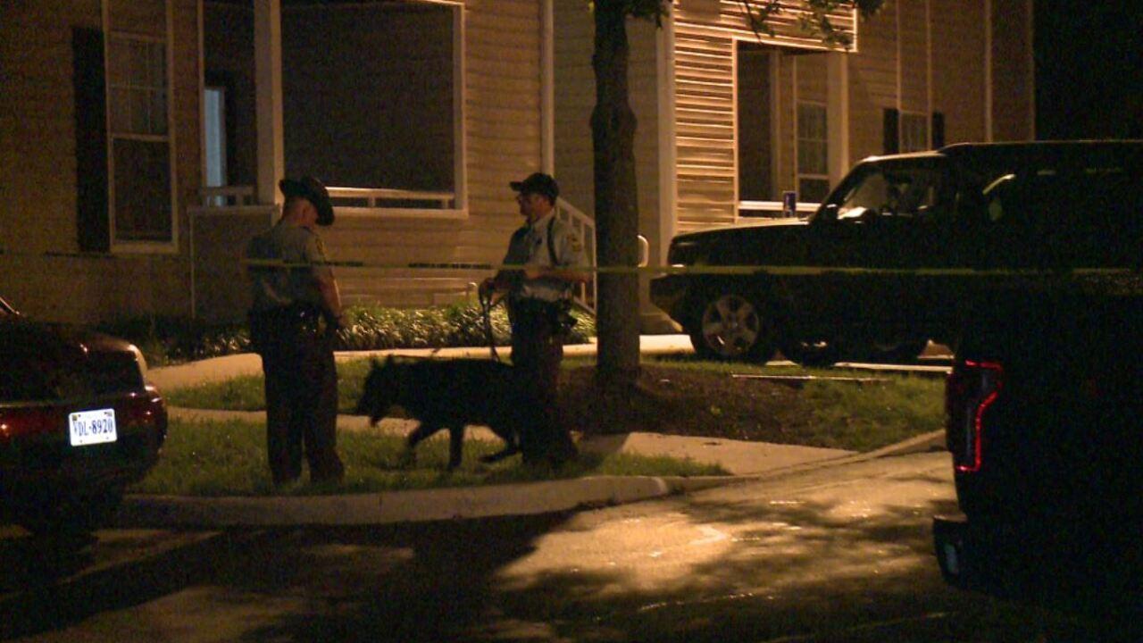 Single bullet strikes two men at Hanover apartment, teenarrested