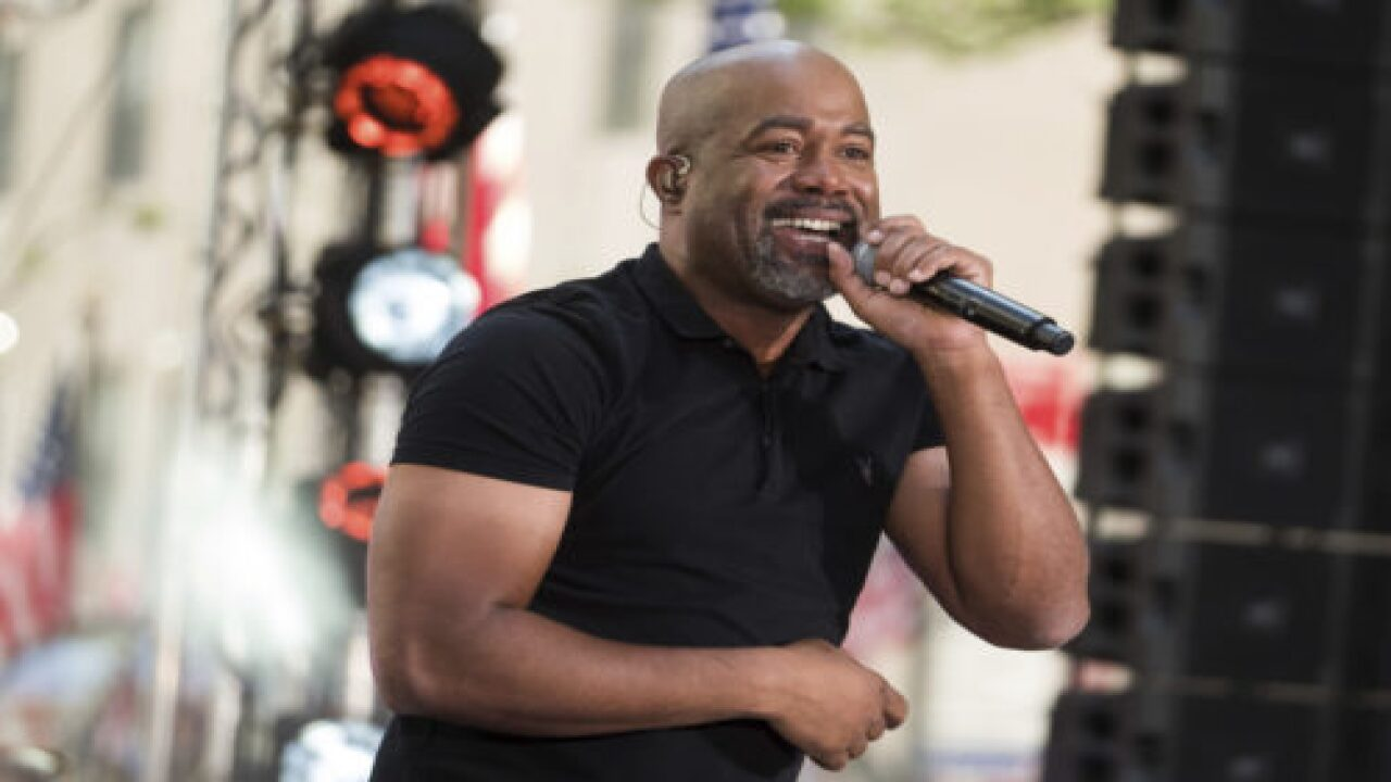 Darius Rucker Sang A Duet With His Daughter And They Sound Amazing Together
