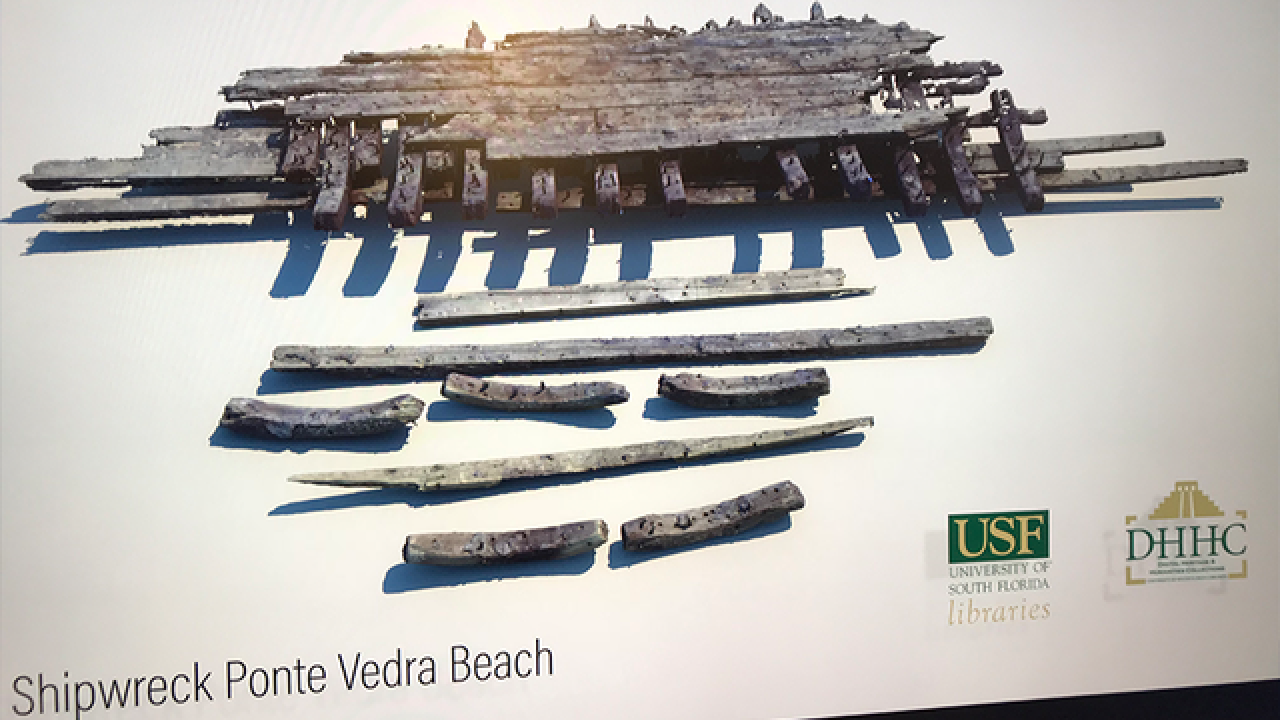 USF archaeologists to 3D map Florida shipwreck