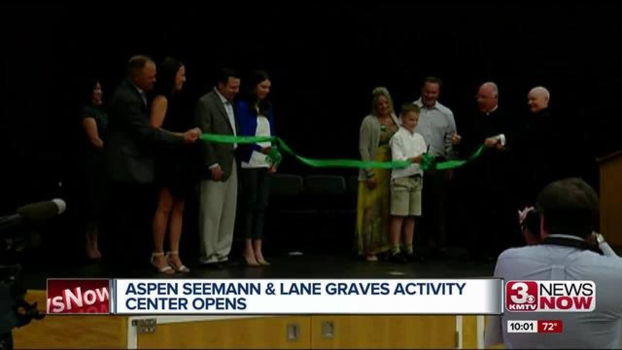 New activity center honors Graves, Seemann
