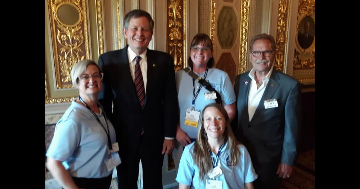 Montana Ambassador for the American Cancer Society Action Network returns from DC