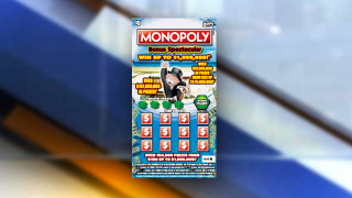 Florida Lottery Monopoly Scratch-off