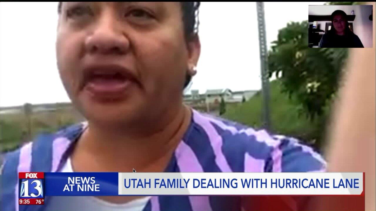 Utahns living in Hawaii prepare for HurricaneLane