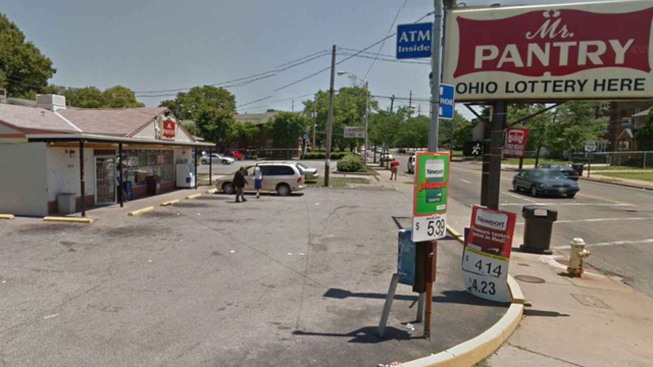 Two young men shot outside Akron grocery store Thursday afternoon