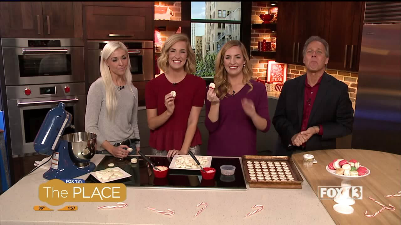 Macaron class with The Blonde Who Bakes
