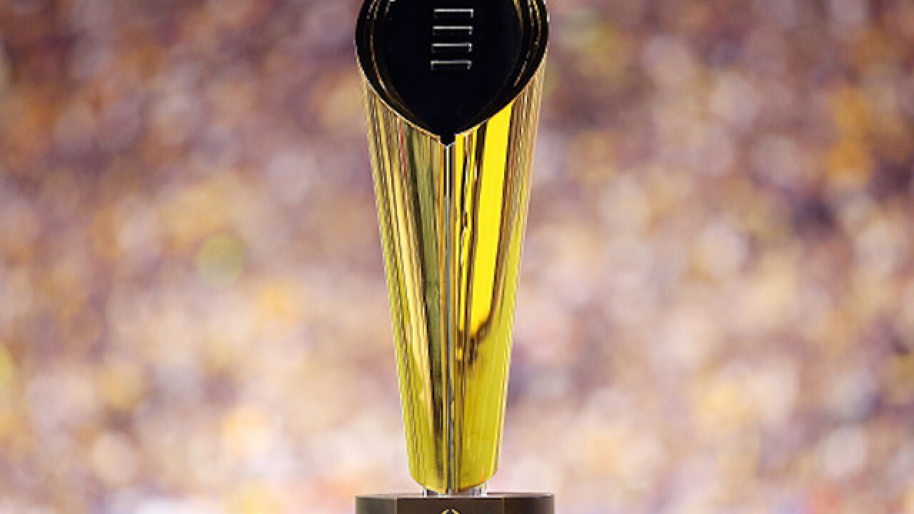 College Football Playoff to move semifinals away from New Year's Eve