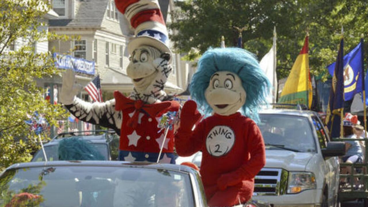 Think Trump and Clinton fall flat? Vote for Cat in the Hat