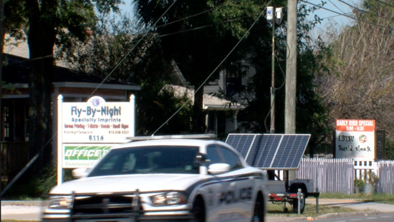 Push for more cameras in Seminole Heights