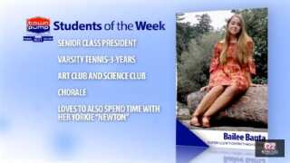 Students of the Week: Amy Haughian and Bailee Banta of Custer County District High School